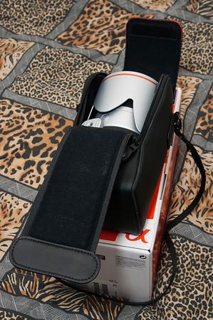 Sony 70-400 G Case opened