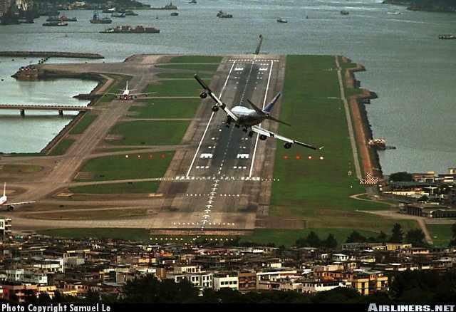 Hong Kong Airport Approach