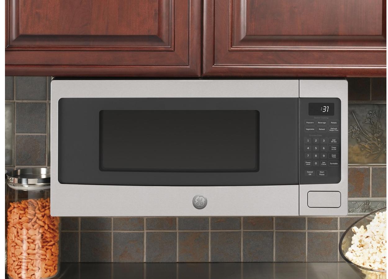 ge microwaves and microwave shelf
