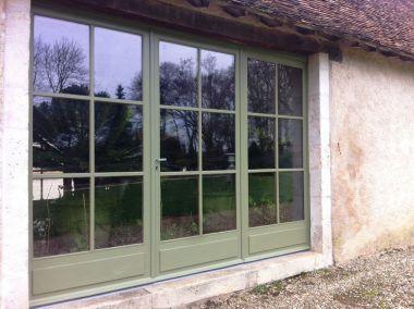 rénovation fenêtre en bois double vitrage Nantes DV  Renov 01