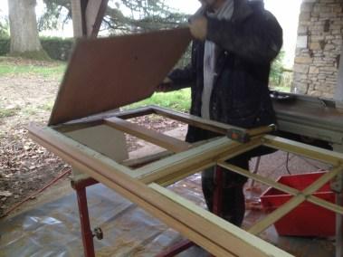 rénovation fenêtre en bois double vitrage Nantes DV  Renov 08