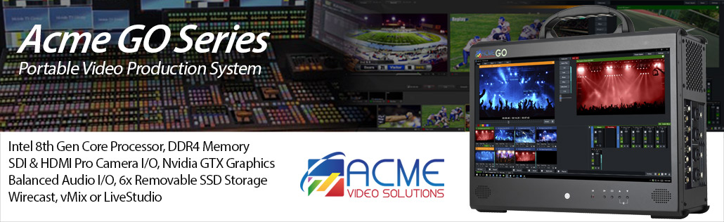 Acme Video Solutions GO Computer for Live Streaming