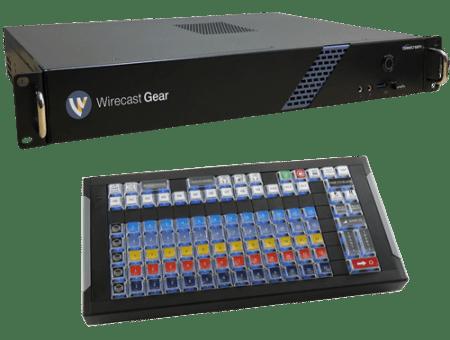Wirecast Gear with X-Keys Control Surface