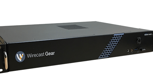 Wirecast Gear Rackmount Live Streaming