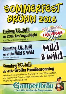 Sommerfest Brünn