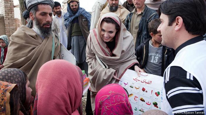 Afghanistan Kabul Angelina Jolie