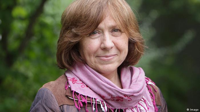 Svetlana Alexeivich, winner of the 2015 Nobel Prize for Literature - peoplewhowrite