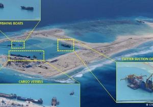 Pangkalan Militer Cina di Laut Cina Selatan
