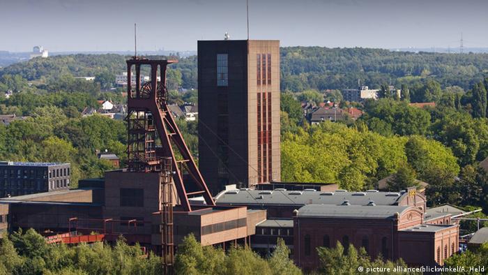 Antiga mina de carvão em Essen