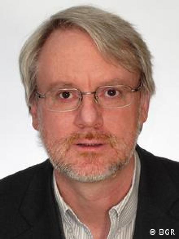 Uwe Meyer Wissenschaftler am BGR
