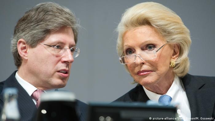 Deutschland Continental AG Georg und Maria-Elisabeth Schaeffler