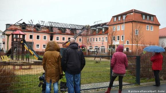 Bautzen Brandanschlag auf geplantes Flüchtlingsheim