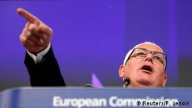 Brüssel EU Kommission Aufhebung Visumspflicht für türkische Staatsbürger Frans Timmermans