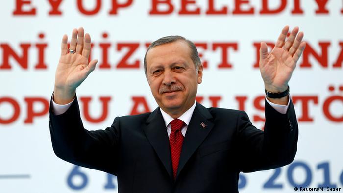 El presidente de Turquía, Tayyip Erdogan en Estambul