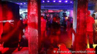 Club Tresor in Berlin, Copyright: Johannes Eisele/dpa