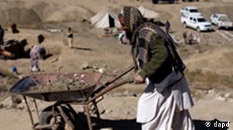 Archäologische Ausgrabungen in Mes Aynak (Foto: dapd)