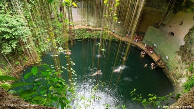 Ik Kil Cenote in Mexico (Patryk Kosmider / Fotolia)