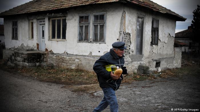 Bulgarien Armut Verfall Voynitsa Sofia (AFP/Getty Images)