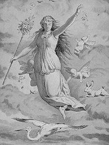 Göttin Ostara
