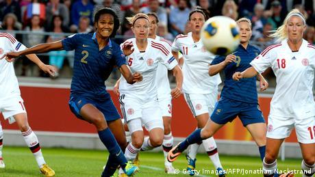 Fußball EM Dänemark gegen Frankreich (Getty Images / AFP / Jonathan Nackstrand)