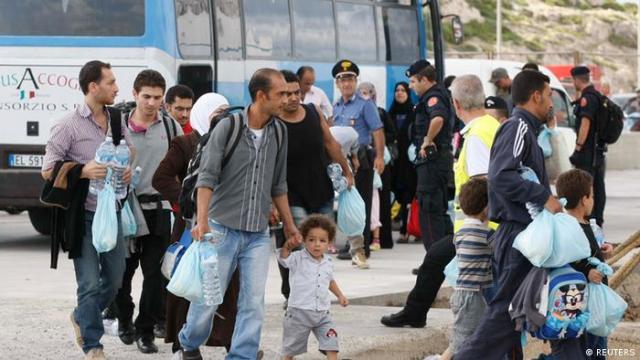 Italien Flüchtlingsdrama Lampedusa (REUTERS)