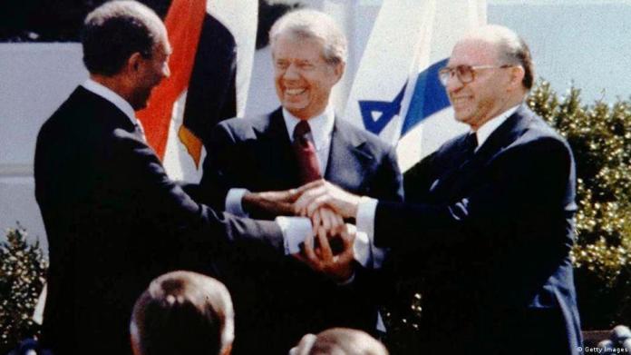Resultado de imagen para Camp David firma de la paz