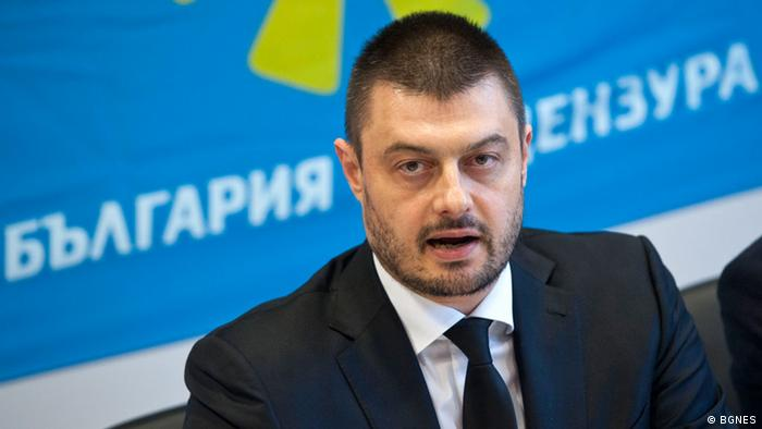 Nikolai Barekov, Chef der Partei Bulgarien ohne Zensur (BGNES)
