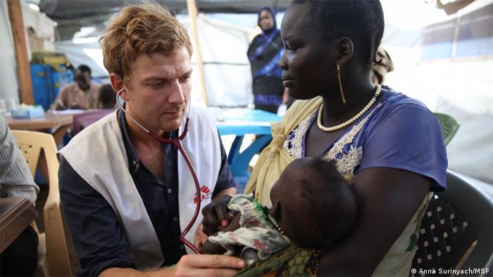 Ärzte ohne Grenzen Médecins Sans Frontières MSF (Anna Surinyach/MSF)