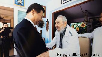 Xi Jinping Fidel Castro (picture alliance / Photoshot)