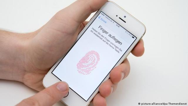 iPhone 5s Fingerabdruck Touch ID