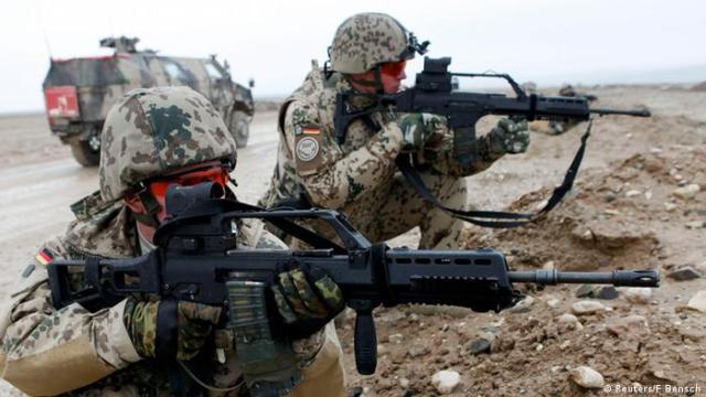 Bundeswehr Soldaten in Afghanistan Archiv 2009
