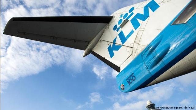 KLM airplane (AFP / Getty Images / R. De Waal)
