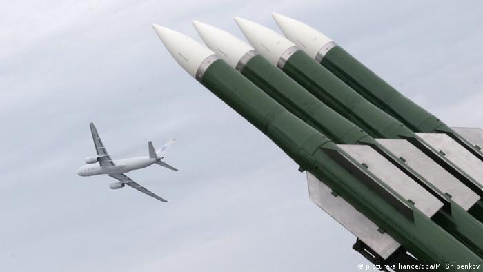 Russland Flugabwehrsystem Buk-M2 (picture-alliance/dpa/M. Shipenkov)