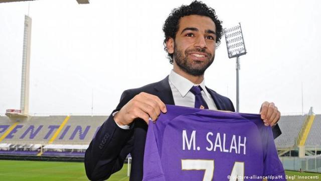 Italien Fußballspieler Mohamed Salah (picture-alliance / dpa / M. Degl 'Innocenti)