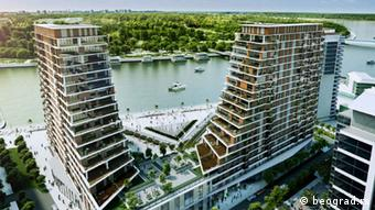 Belgrad auf dem Wasser (Foto: www.beograd.rs)