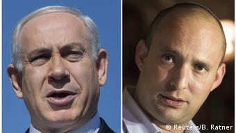 Benjamin Netanjahu und Naftali Bennett (Reuters/B. Ratner)