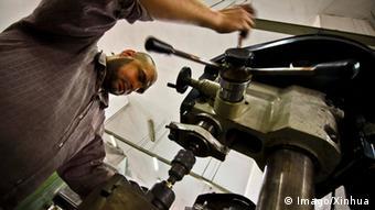 Ägypten Wirtschaft Fabrikarbeiter
