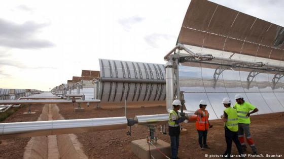 Noor Ourzazate power plant (picture-alliance/AP Photo/A. Bounhar)