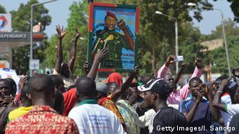 Burkina Faso Erinnerung an Präsident Thomas Sankara (Getty Images/I. Sanogo)
