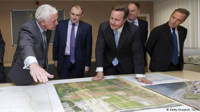 England - Inspektion Bauplan Atomkraftwerk Hinkley Point C with David Cameron (Getty Images / J. Tallis)