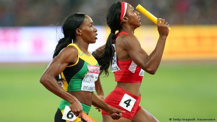 China World Athletics Championships in Beijing - Women's 4x400 Relay Race (Getty Images / A. Hassenstein)