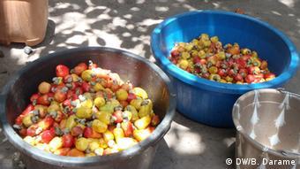 Guinea-Bissau Cashew-Nüsse im Dorf Vila de Quisseth (DW/B. Darame)