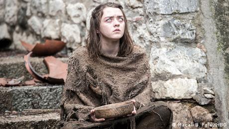 Maisie Williams în rolul Arya Stark