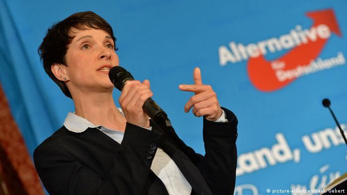 München Frauke Petry AfD (picture-alliance/dpa/A. Gebert)