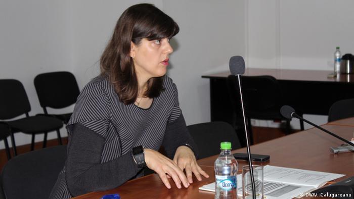 Republik Moldau - Laura Codruţa Kövesi, Oberstaatsanwältin Rumänien
