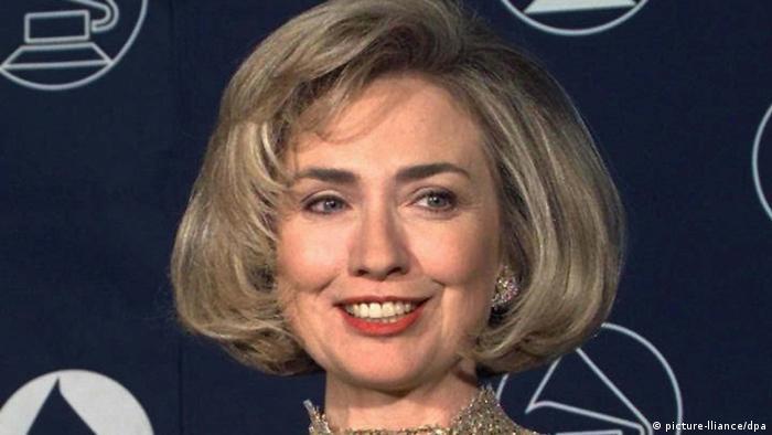 USA Hillary Clinton gewinnt Grammy 1997