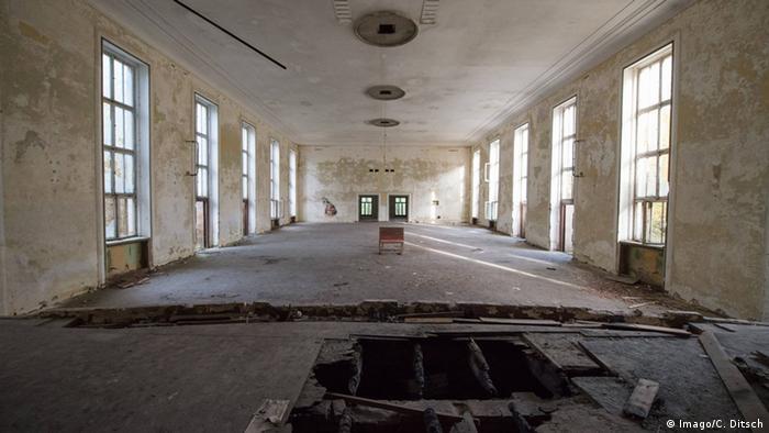 Deutschland Verlassene Orte in Berlin Vogelsang Kaserne