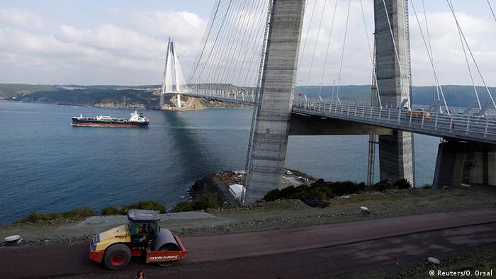 Yavuz Sultan Selim Köprüsü Boğaziçi'nin üçüncü köprüsü