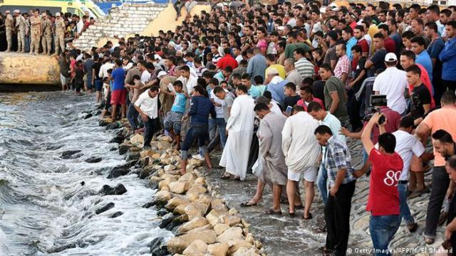 The bodies of 26 migrants were found off the coast of Libya on the 23rd of June 2016. On 21 September, a boat carrying hundreds of migrants capsized off the Egyptian port city of Rasheed, killing 164 people. Pick them up in the next few days.