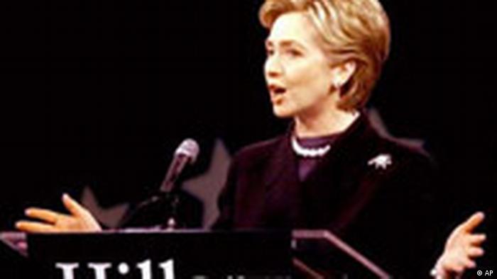 Hillary on tour